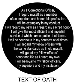 As a Correctional Officer, 