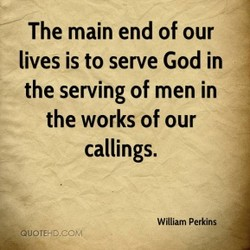 The main end of our 