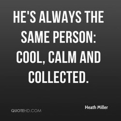 HE'S ALWAYS THE 