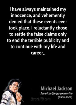I have always maintained my 