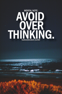 MENTAL NOTE: 