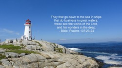 They that go down to the sea in ships 