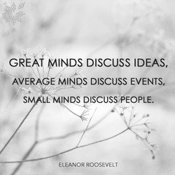 DISCUSS IDEAS, 