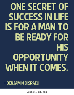 ONE SECRET OF 