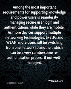 Among the most important 