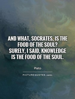 AND WHAT, SOCRATES, IS THE 