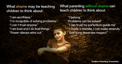 What shame may be teaching 