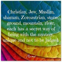 Christian, Jew, Muslim, 