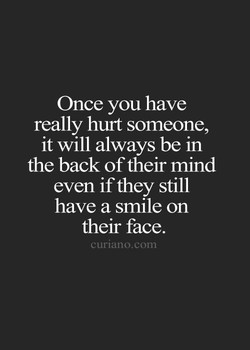 Once you have 