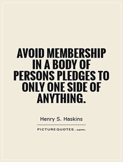 AVOID MEMBERSHIP 