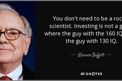 You don't need to be a roc 