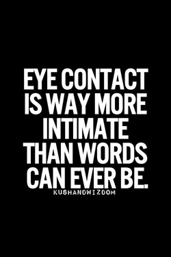 EYE CONTACT 