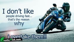 I don't like 