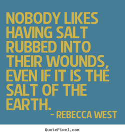NOBODY LIKES 