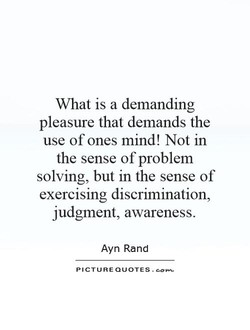 What is a demanding 