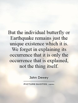 But the individual butterfly or 