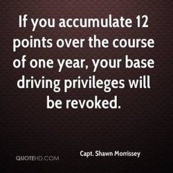 If you accumulate 12 