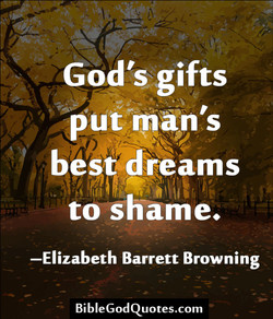 God's gifts 
