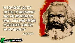 IN BOURGEOIS SOCIETY 
