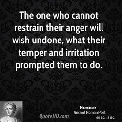 The one who cannot 