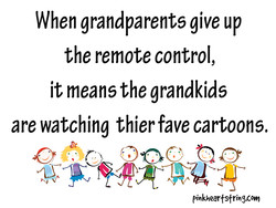 When grandparents give up 