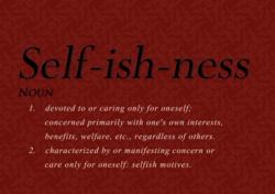 Self-ish -n 