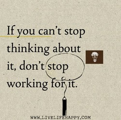 If you can't stop 