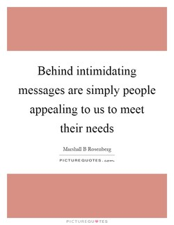 Behind intimidating 