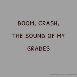 BOOM, CRASH, 
