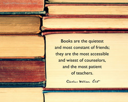 Books are the quietest 
