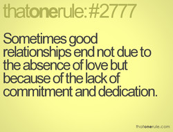 Sometimes good 