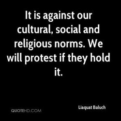 It is against our 