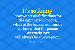 It's so funny 