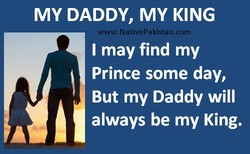 MY DADDY, MY KING 