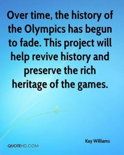 Over time, the history of 