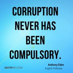 CORRUPTION