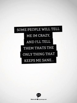SOME PEOPLE WILL TELL 