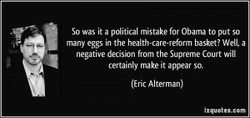 so it a pditical mistake for Obama to so 