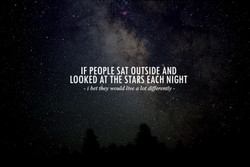 IF PEOPLE SAT OUTSIDE ÅND 