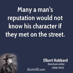 many a man's 