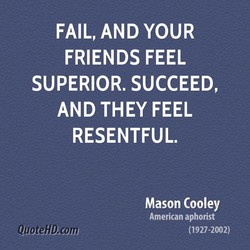 FAIL, AND YOUR 