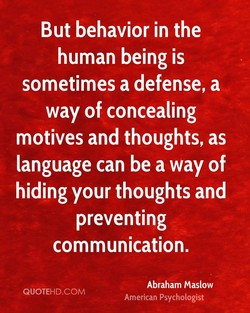 But behavior in the 