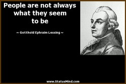 People are not always 