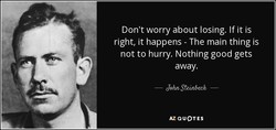 Don't worry about losing. If it is 