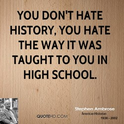YOU DON'T HATE 