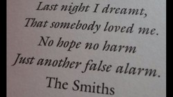 Lost night I dreamt, 