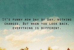 IT'S FUNNY HOW DAY 