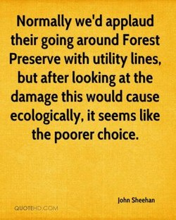 Normally we'd applaud 