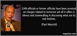 CAIR officials or former officials have been arrested 