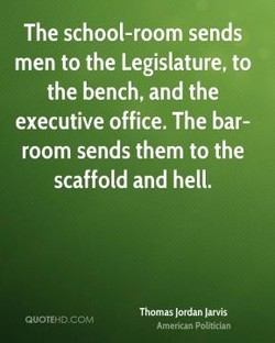 The school-room sends 